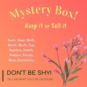 Sell or Keep Mystery Surprise Box!